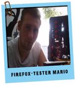 Firefox Tester Mario