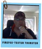 Firefox Tester Thorsten