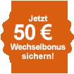50 € Wechselbonus