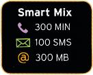 Prepaid Smart Mix